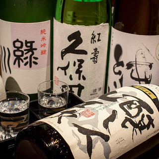 獺祭や地酒飲み放題など日本の銘酒を新鮮地鶏料理と共に…
