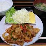 ふじ川食堂 - 料理写真: