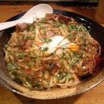鶏の穴 - 2011年7月限定麺 うにあえ麺