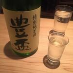 堂島雪花菜 - 豊盃特別純米(冷)