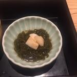 堂島雪花菜 - 【先付け】 ・林檎モズク
