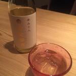 堂島雪花菜 - 黄金蜜酒(みりん:ソーダ割) * 食後酒