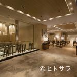 """ラウンジ - コンセプトは""""Modern Japan""""。ゲストにくつろぎを約束する空間"""
