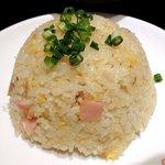 87832903 - 暖中 「ハーフ五目炒飯とハーフ海鮮湯麺のセット」