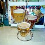 ロングサイド - ビール3種