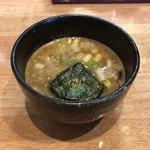 二代目 麺やケイジロウ - 特製 魚介鶏つけ麺 スープ