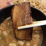 二代目 麺やケイジロウ - 特製 魚介鶏つけ麺 チャーシュー