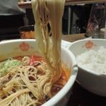87836985 - 坦々麺の麺