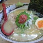 天和 - 天塩ラーメン850円
