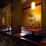 地酒とそば・京風おでん 三間堂 - 内観写真: