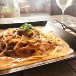リストランテ 勘十郎 - 料理写真:夏期限定★ウニのトマトクリームパスタ