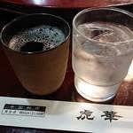 虎華 - ドリンク写真:温かいウーロン茶