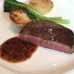 オザミトーキョー - 壱岐牛フィレ肉のポアレ