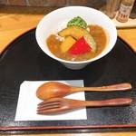 Cotti菜 - 料理写真:Cotti菜ミニカレー 450円