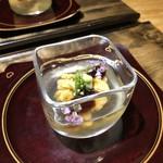 Mitsuyasu - ◆紫雲丹(大間) 鰹だしのジュレと共に