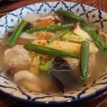 コップンカー食堂 - 料理写真:・ゲーンジューウンセン 600円 (税別)
