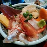 87847596 - 「海の幸丼ランチ」