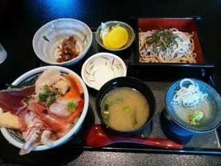 悠流里 - 「海の幸丼ランチ」