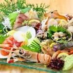 串本漁港直送 鮮魚盛り合わせ5種