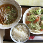 三昧井 - 野菜炒め定食(890円)