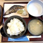活鮮市場 - 鯖塩焼き定食