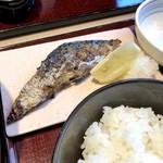 活鮮市場 - 鯖塩焼き