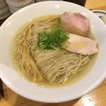 自家製麺 竜葵 - 料理写真:塩そば780円