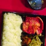 沖苑 - ロース焼肉定食