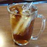 はまなす - 北海道料理の店 はまなす @中葛西 氷の形が凄い麦茶