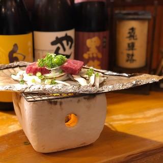 週替わりで楽しめる日本酒あり。飛騨の銘酒、各地の地酒を堪能!