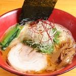 麺匠 金衛門 - 海老蕎麦