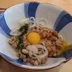 紺碧の海 - 納豆
