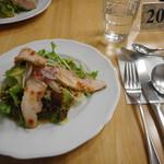 ペンションユミィ - 料理写真:①サラダチキン