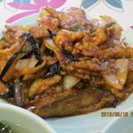 大味 - 豚肉となすの味噌炒め