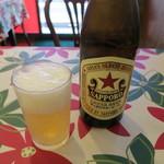 大味 - 瓶ビール(サッポロラガービール)