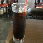 コルティーレ - ドリンクはアイスコーヒーにしました