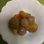 万弥 - ジャガイモとコンニャクの味噌炒め