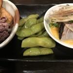 あずき色のマーカス - 八尾の枝豆