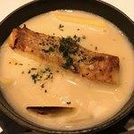ベーカリーレストラン サンマルク - はまぐりと白身魚の食べるクラムチャウダー アップ