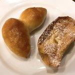 ベーカリーレストラン サンマルク - 塩バターパン、フレンチトースト