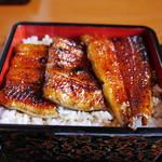 うなぎ松倉 - 料理写真:うな重(梅)