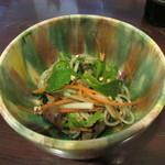 87874345 - 前菜の「蕎麦サラダ」