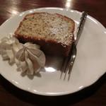 ラドリオ - 紅茶ケーキ290円