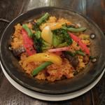ANCLAR - 季節野菜のパエリア