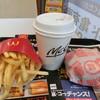 マクドナルド - 料理写真:ダブルチーズバーガーセット550円