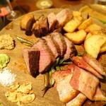 炭火とワイン POISSON - 炭火焼3種