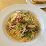 アスト - アサリと信州野菜のペペロンチーノ