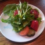マルコ食堂 - パスタランチのサラダ