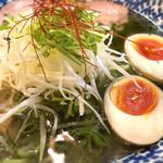 中村商店 - 冷やし金の塩(味玉トッピング)