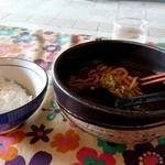 慶屋 - カレーうどんとご飯